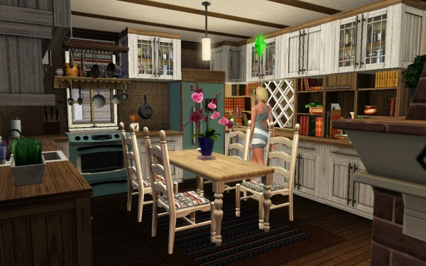 Show off your sim 39 s kitchens picture thread obviously for Sims 3 kitchen designs