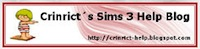 Crinrict's Sims 3 Help Blog