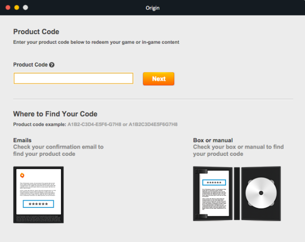 origin-code-screen