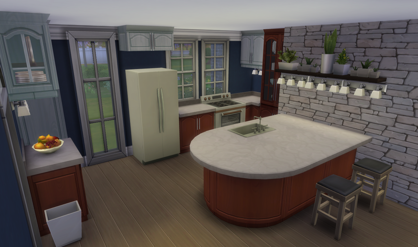 It s the little things bluebellflora for Kitchen ideas sims 4