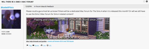 Sims 4 Mac Forum
