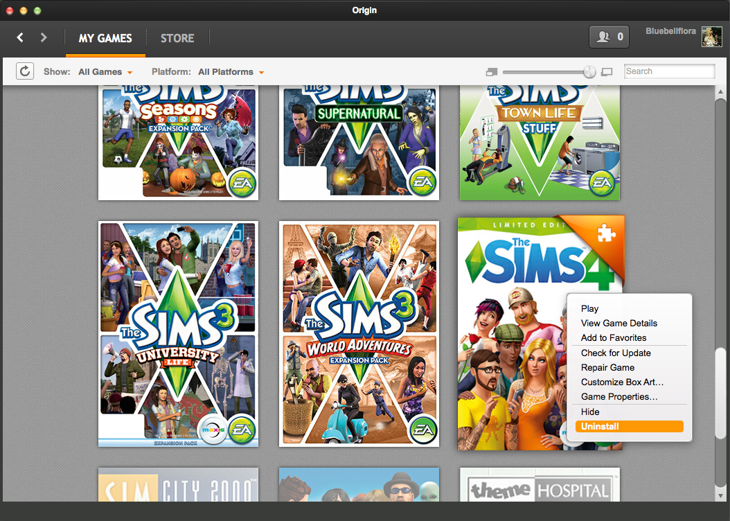 How to uninstall The Sims 4 on a Mac – BluebellFlora