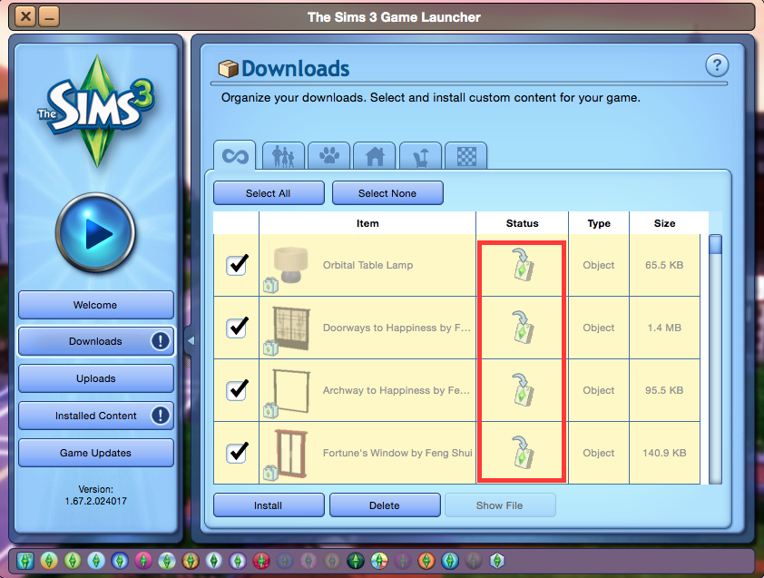 Installing Sims 3 Store content on a Mac – BluebellFlora