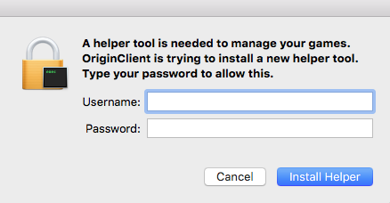Origin Helper Tool error message on Mac – BluebellFlora