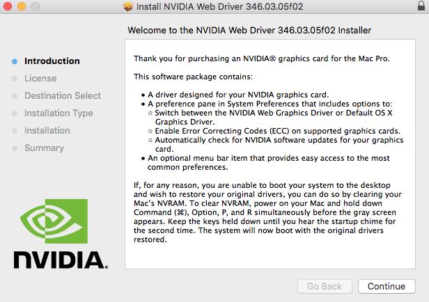 NVIDIA Installer