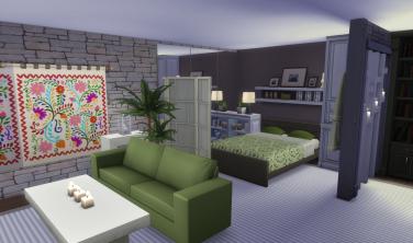 Subterranean Splendour Bedroom