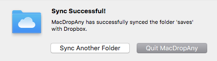 Sync Success