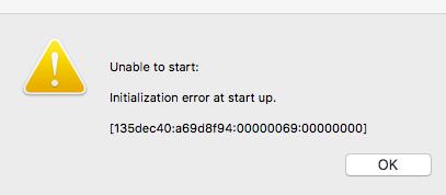 initializationerror