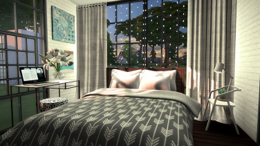 4x4 Simple Bedroom