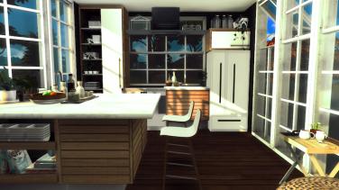 4x5 Warm Wooden Kitchen