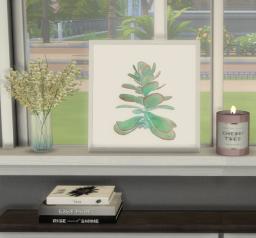 Leaning Succulent