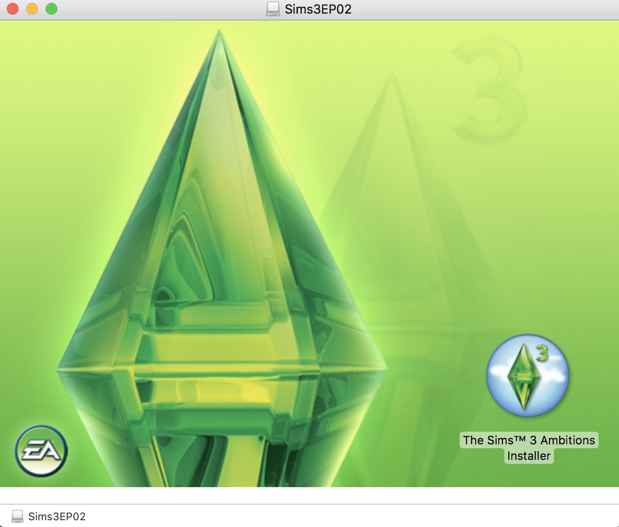 No install option in Origin for Sims 3 for Mac – BluebellFlora