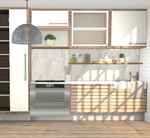Kitchen Backsplash Recolours Part 2 Minc S C Series And S Series