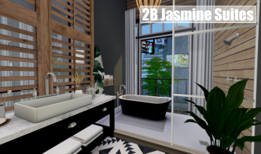 2B Jasmine Suites Bathroom
