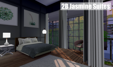 2B Jasmine Suites Bedroom